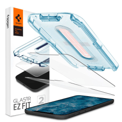 Spigen | Ez Fit 2-Pack Härdat Glas.Tr iPhone 12 Pro Max - Svart