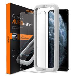 Spigen Härdat Glas (Alm).Tr Slim 2-Pack iPhone 11
