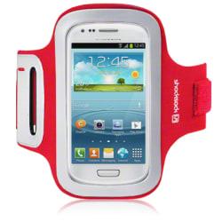 Sportarmband till Samsung Galaxy S3 Mini i8910 (Röd)