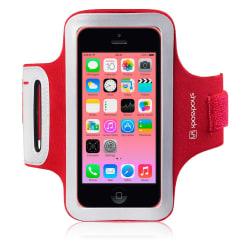 Sportsarmband till Apple iPhone 5C (Röd)