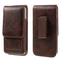 Universal bältesväska med plats för kort - Brun