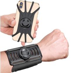 """VUP Borttagbar Sport Armband till mobiler 4""""- 6.5"""" - Svart"""