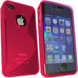 Wave FlexiCase Skal till iPhone 4S/4 (ROSA)