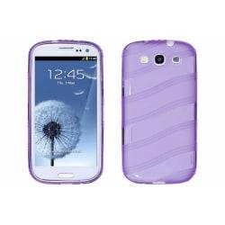 Wave FlexiCase Skal till Samsung Galaxy S3 i9300 (Lila)
