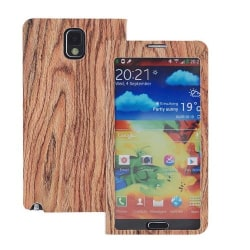 Wood Style Windows Case till Samsung Galaxy Note 3 N9000 (WDWS2)