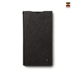 Zenus Prestige minimal diary väska till Sony Xperia Z1 (Svart)