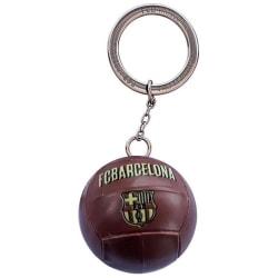 Barcelona Nyckelring Fotboll Retro