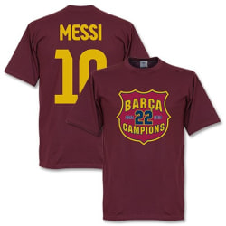 Barcelona T-shirt Messi Champs XL