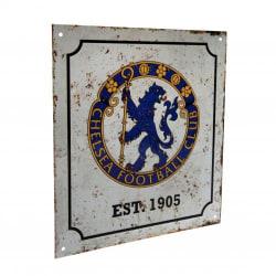Chelsea Skylt Retro Logo