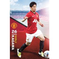 Manchester United Affisch Kagawa 57
