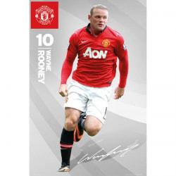Manchester United Affisch Rooney 50