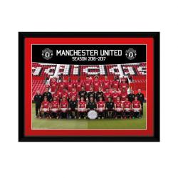 Manchester United Bild Squad 2016 20 x 15