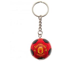 Manchester United Nyckelring Fotboll
