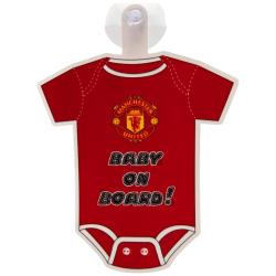 Manchester United Skylt Tröja Baby On Board