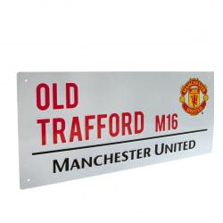 Manchester United Vägskylt Old Trafford