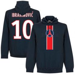 Paris St Germain Huvtröja Ibrahimovic Mörkblå XL