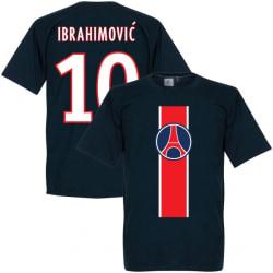 Paris St Germain T-shirt Ibrahimovic Mörkblå Barn 3-4 år