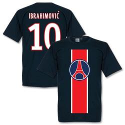 Paris St Germain T-shirt Ibrahimovic Mörkblå XL