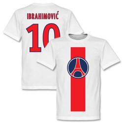 Paris St Germain T-shirt Ibrahimovic Vit XXL