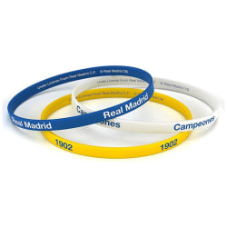 Real Madrid Armband 3-pack