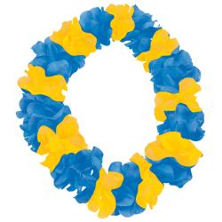 Sverige Hawaii Krans Blågul