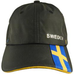 Sverige Keps Svart Micro