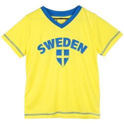 Sverige Sporttröja Sweden Gul L