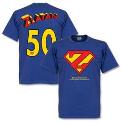 Sverige T-shirt Zlatan Superman L