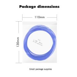 1,75mm 3D-penna glödtråd filament pla abs filament 5m / 10m abs 5m slumpmässig färg
