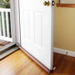 Dubbel dörr utkast dodger dörrstopp och fönster skydd