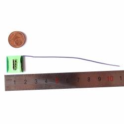 Inbyggd 8-stifts avkodare med tråd för fjärrkontrolltåg