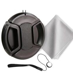 Mittklämma linsskydd för Canon / Nikon / Sony / Sigma / 3-i-1 kit/52mm