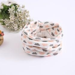 Ny baby halsduk, magisk söt tecknad bomullsbandana one sizeN