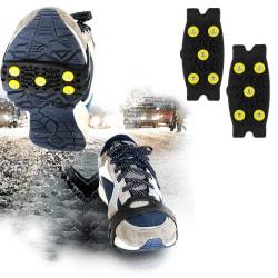 Snöisklättring halkskyddande spikar grepp klämmor på