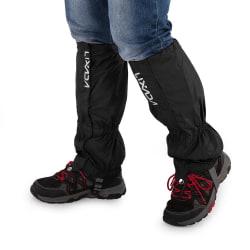 Utomhus snö kneepad skidåkning, vandring klättring ben skydd Black