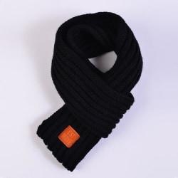 Vinter varm - mjuk halsduk, krage stretch, halsring för, black