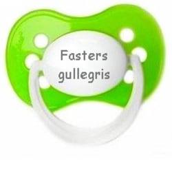 Napp MILKY, Fasters gullegris (grön)