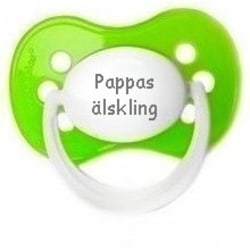 Napp MILKY, Pappas älskling (grön)