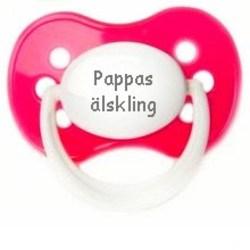 Napp MILKY, Pappas älskling (rosa)