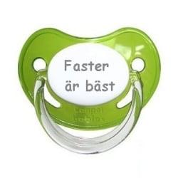 Napp SAFARI, Faster är bäst (grön)
