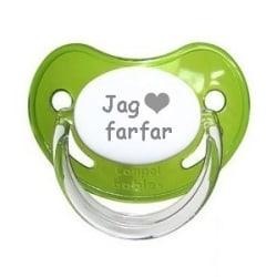 """Napp SAFARI, Jag """"hjärta"""" farfar (grön)"""