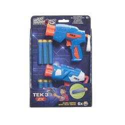 AW Tek 3 2pack- Pistol med skumpilar Blå