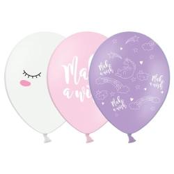 Ballonger Unicorn Mix multifärg