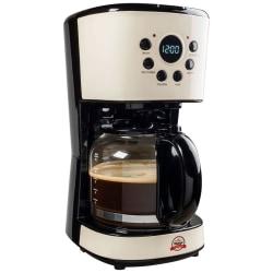 Bestron Kaffebryggare ACM200RE 900 W 15 L Vintage Vit