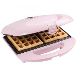 Bestron Väffeljärn Väffelmaskin Rosa ASW401P Waffle Maker Vit