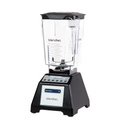 Blendtec Blender Total Blender Black, Svart Transparent