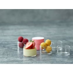 Blomsterbergs dessert glass Dia. 5 x 3 cm 6 pcs grå