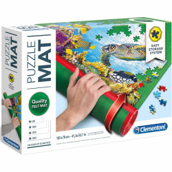 Clementoni Puzzle Mat- Praktisk Pusselrulle multifärg