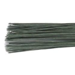 Culpitt Gum paste wire, metalltråd, grön, 0,8 mm Grön