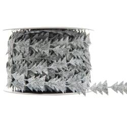 Dekorationsband Band Gran Grå 15mm x 5m grå